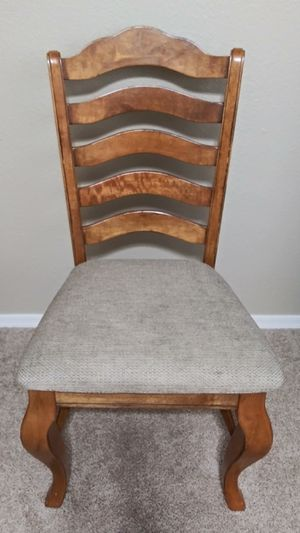 French Country Farmhouse Ladder Back Dining Table Chairs - Replacement Chair for Sale in Mesa, AZ
