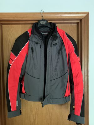 Olympia Motor Sports Motorcycle Jacket w/liner! $195 for Sale in Pasadena, CA