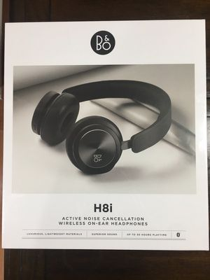 Bang & Olufsen - H8i Wireless Noise Canceling On-Ear Headphones - Black (NEW) for Sale in East Brunswick, NJ
