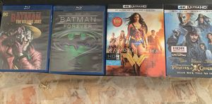 Blu-ray and 4K movies perfect condition just used once for Sale in National City, CA