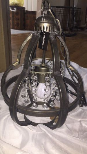 New! Creative Co Op Metal Chandelier for Sale in Marlboro Township, NJ