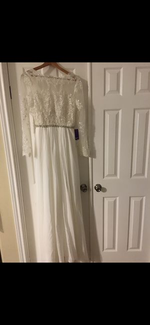 Wedding Dress for Sale in Dickinson, TX
