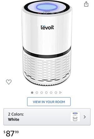 Levoit Hepa Air Purifier (Model: lv-h132) for Sale in Miami, FL
