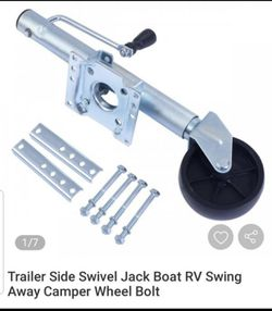 Trailer Side Swivel Jack Boat RV Swing Away Wheel Bolt for Sale in South Gate,  CA