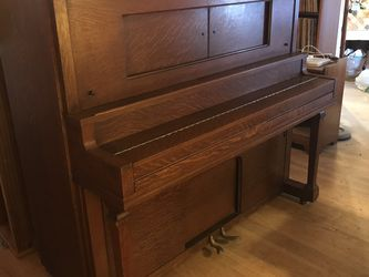 Aeolian Pianola Antique Player Piano With Music Rolls for Sale in San Pablo,  CA