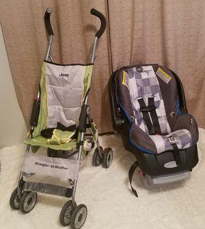 Stroller & Car seat Bundle for baby boys for Sale in Elkins, WV