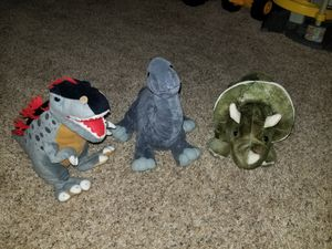 Dinosaur stuffed animal lot for Sale in Virginia Beach, VA