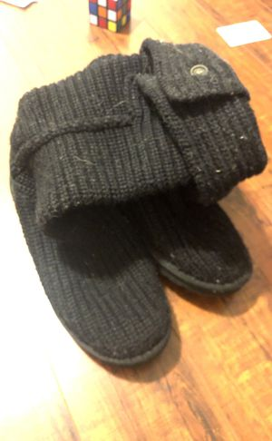Black Uggs Knit Woven Size 8 for Sale in San Diego, CA