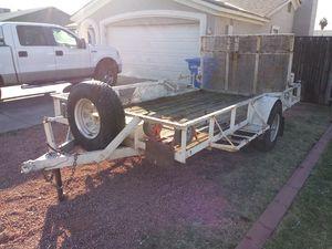 6 foot by 12 foot utility trailer heavy duty for Sale in Phoenix, AZ