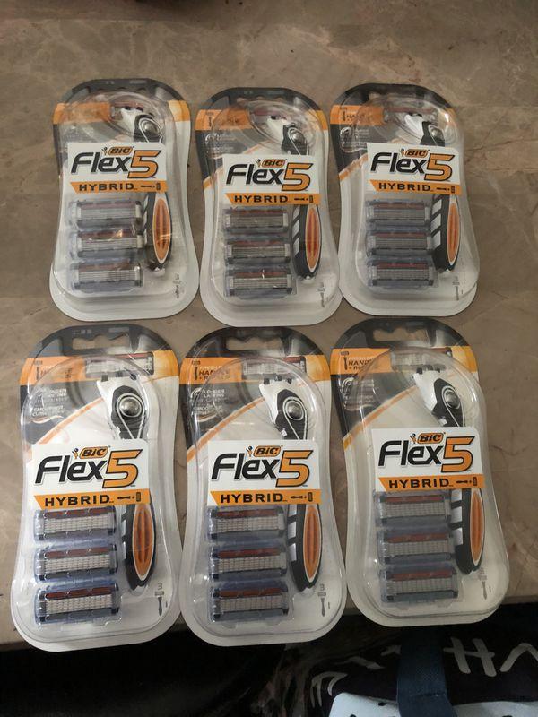 Lot of New Bic Men's razors