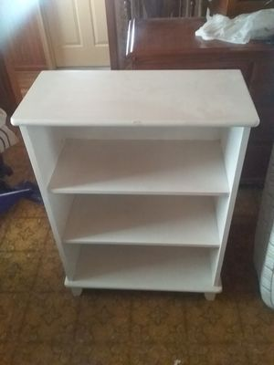 3 shelves open cabinet for Sale in Wayland, MI