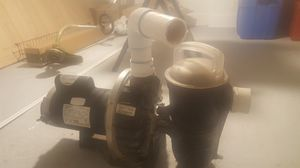 2hp pool and spa pump works great for Sale in Oklahoma City, OK
