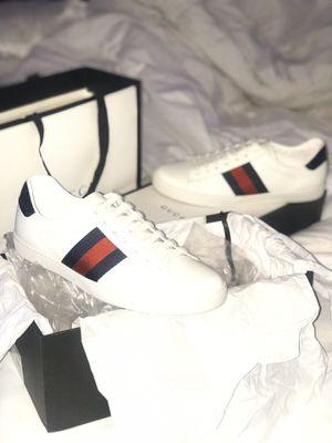 Authentic Gucci Ace sneakers 43 for Sale in Atlanta, GA