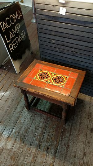 1930's or 1940's California tile end table for Sale in Tacoma, WA