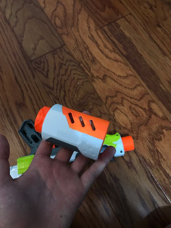 TOY Sneaky Nerf modulus blaster with dart storage and silencer