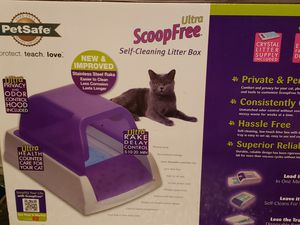 Scoop free automatical litter box for Sale in Rochester, MN