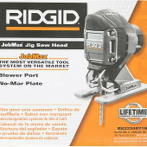 NEW RIDGID R82234071B JOBMAX JIGSAW TOOL -JIG SAW HEAD ATTACHMENT ONLY for Sale in Overland Park, KS