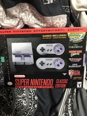 Super Nintendo Classic Edition must sell!! for Sale in Miami, FL