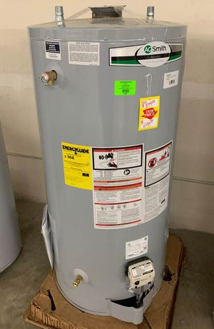 NEW AO SMITH WATER HEATER WITH WARRANTY 8LC9 for Sale in El Paso, TX