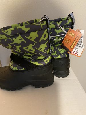 Snow boots, size 13 kids for Sale in Federal Way, WA
