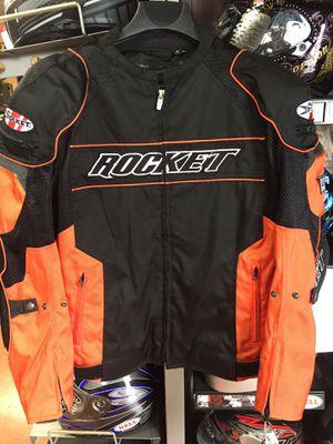 New black and orange joe rocket motorcycle armor jacket $150 for Sale in Whittier, CA