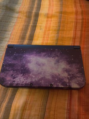 Galaxy Purple Nintendo new 3ds xl with 200 3ds games , ds , 2ds , 128gb sd for Sale in Los Angeles, CA
