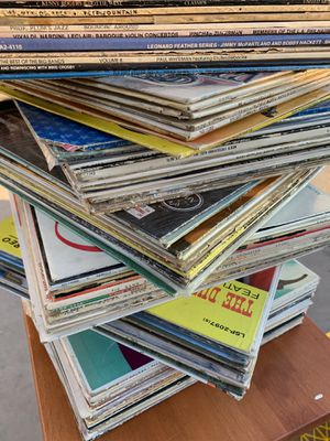 Records LP's in lots of 100 (Random) no cherry picking several lots available 40's-60's ~~No Motown or classic rock~~ $50 for 100 LP's pick up only i for Sale in Chandler, AZ