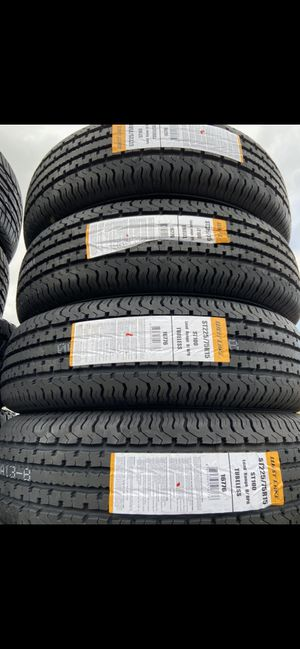 ST175/80R13 $49 each new trailer tires 175/80/13 special trailer tire 175/80R/13 ST175/80R/13 6ply heavy dutty trailer tires for Sale in San Bernardino, CA