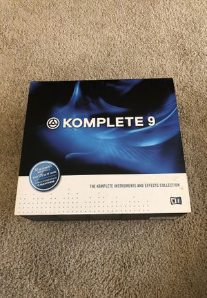 Native Instruments Komplete 9 for Sale in Lakewood, CO