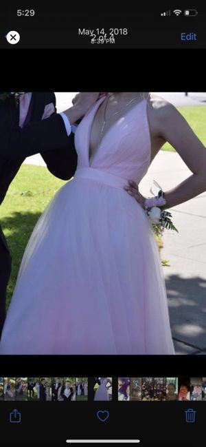 Medium pink prom dress for Sale in Woodland, CA