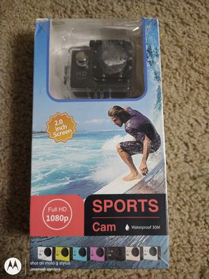 Under water Sports cam go pro 1080 p ( never used) for Sale in Cleveland, OH
