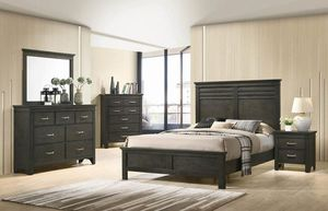 (JUST $54 DOWN) Brand New Queen Bedroom Set (Financing and Delivery available) for Sale in Carrollton, TX