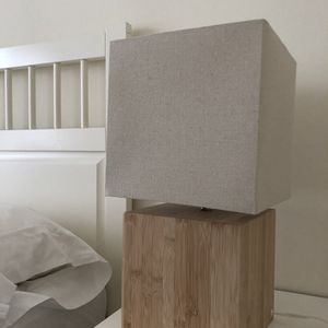 Ikea bamboo table lamp for Sale in San Francisco, CA