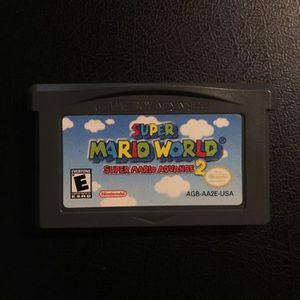 Super Mario World Super Mario Advance 2 (nintendo Game Boy Advance for Sale in Chula Vista, CA