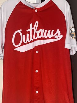 Vintage Outlaws Baseball Jersey for Sale in Bakersfield,  CA