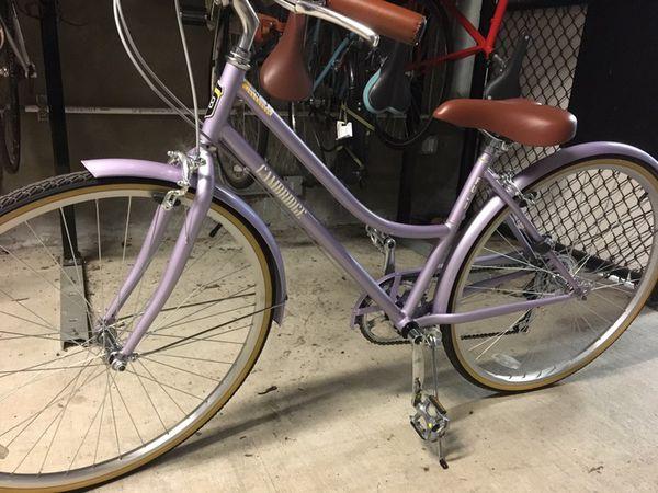 Fuji Nichibei Cambridge Commuter City Bike 2018 - Lavender / 43 for Sale in  Seattle, WA - OfferUp