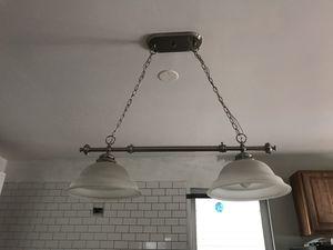 2 pendant Kitchen island Light for Sale in Chicago, IL