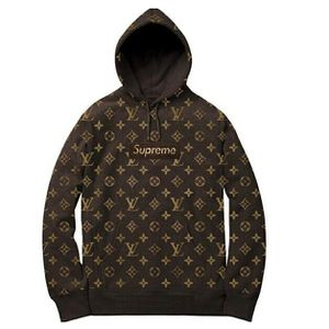 Supreme x Louis Vuitton hoodie size xl (womens) for Sale in Concord, CA