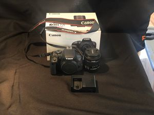 Canon T7i with kit lens for Sale in Rancho Cucamonga, CA
