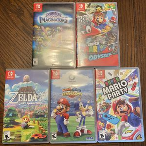 Nintendo switch games $40 each for Sale in Belleville, IL
