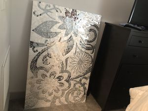 Ceramic tile and glass wall piece for Sale in Baltimore, MD