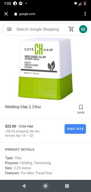 Cote molding clay never been used for Sale in Lincoln, NE