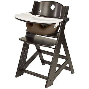 New Keekaroo Height Right High Chair Espresso w Chocolate Insert & Tray for Sale in Miami, FL