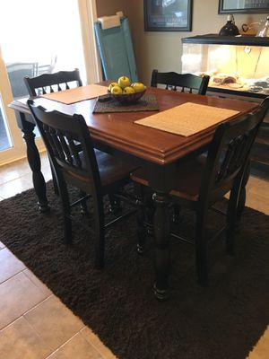 High Kitchen Table with 6 chairs for Sale in Anaheim, CA