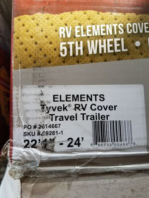 Elements tyvek trailer cover for Sale in Seville, OH
