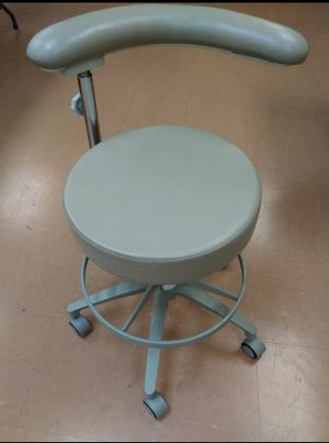 Pelton & Crane rolling adjustable dental chair for sale for Sale in St. Louis, MO