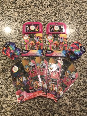 Trolls stickers and activity sets for Sale in Davie, FL