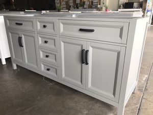 "72"" bathroom vanity only for Sale in Plano, TX"