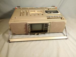 VINTAGE SONY BOOMBOX FX-414 STEREO CASSETTE RECEIVER RADIO for Sale in Kenneth City, FL