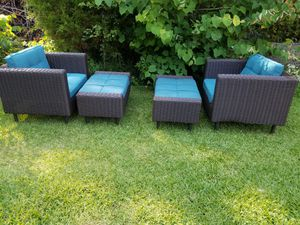 4 piece deep seat outdoor patio furniture for Sale in Conyers, GA